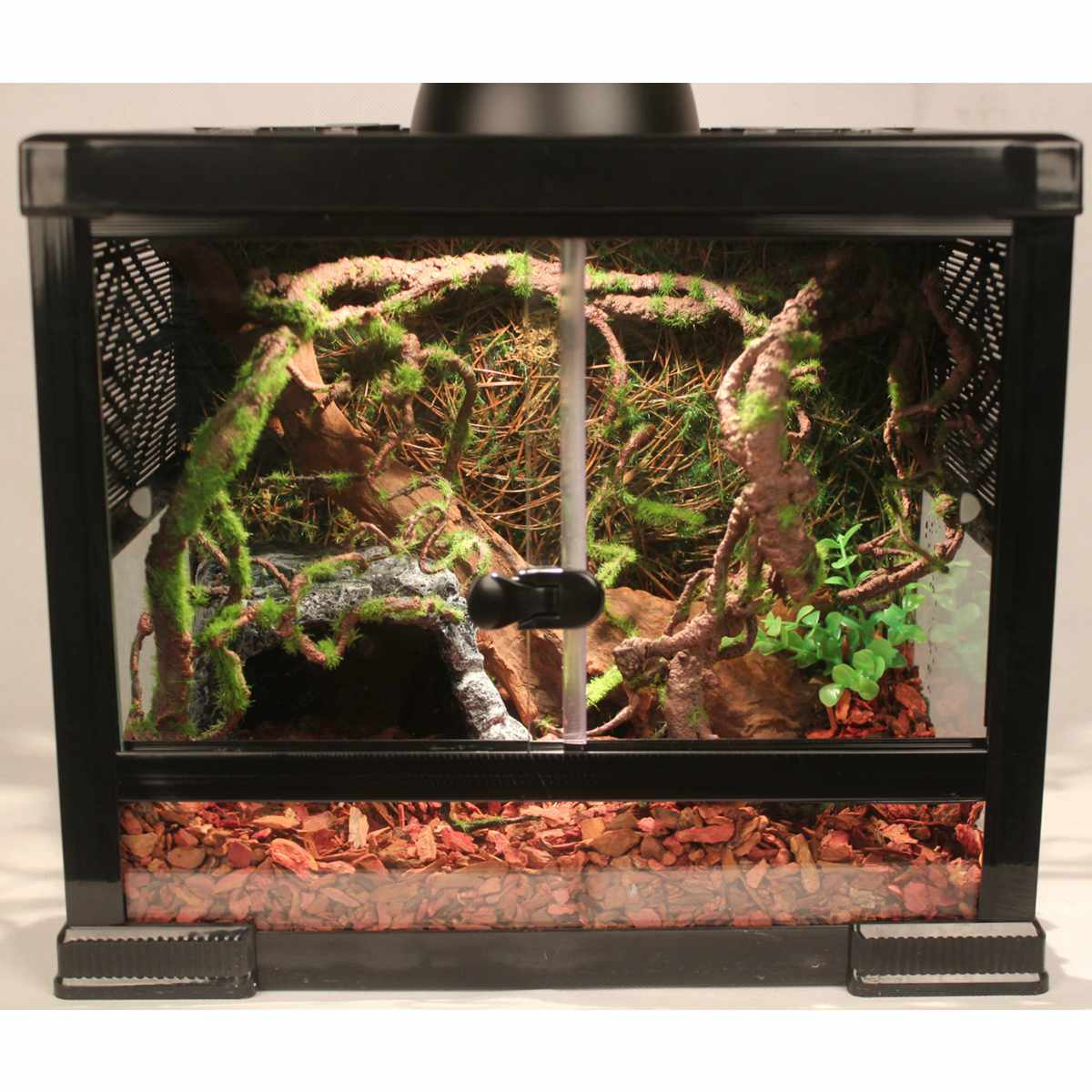 120cm Reptiles Box Tank Vine Climber Jungle Forest Bend Artificial Branch Terrarium Cage Decoration Reptiles Habitat Ornament