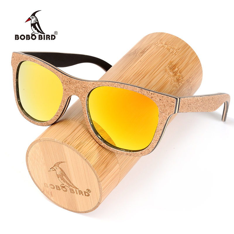 e98d5f7027d BOBO BIRD Unique Design Wood Sunglasses Women Men Retro Luxury Polarized  Sun Glasses with Memorial Gift for Drop Ship C-AG020e