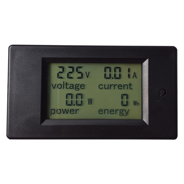 1 PC New Útil 1 pc 20A AC 80-260 V LCD Digital Volt Watt Medidor De Energia Amperímetro Voltímetro