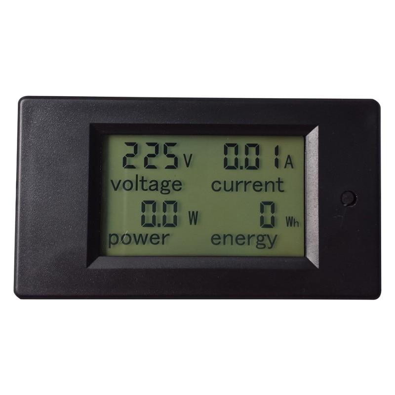 1PC New Useful 1pc AC 80-260V LCD Digital 20A Volt Watt Power Meter Ammeter Voltmeter