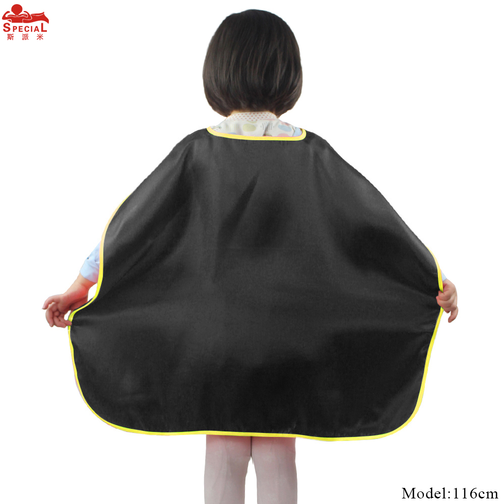 10 PCS SPECIAL 70 70 cm Black Superhero Cape Costume For Kids Boys Toys Birthday Party Supply Shower Halloween Party Costume