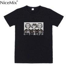 NiceMix 2019 Summer Cotton T Shirt Women Japanese Style Harajuku Tops Female Cartoon Printed Short Sleeve T-shirts Femme