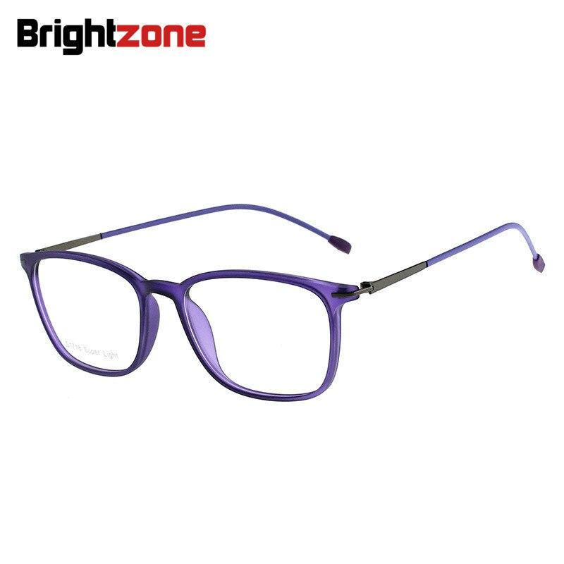 Unisex Astigmatismus Brillen Anti blau Hyperopie Licht Tr90 Black wine Oculos tortoise Matte Brille Super Brightzone Myopie purple Vollrand Red AWpvIznq