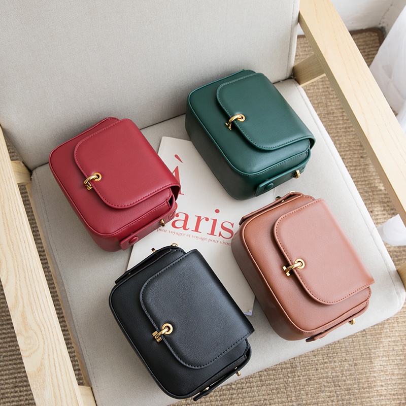 VENOF Fashion split leather crossbody bag for women solid flap bag female small Messenger bag Ladies Shoulder Bag bolsa feminina