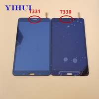 YIHUI Touch Screen Digitizer LCD Display Full Assembly For Samsung Galaxy Tab 4 T330 T331 SM