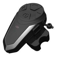 1pcs BT S3 Motorcycle Helmet Communicator Intercom Moto Helmet Bluetooth Headset Waterproof Intercomunicador BT Interphone FM