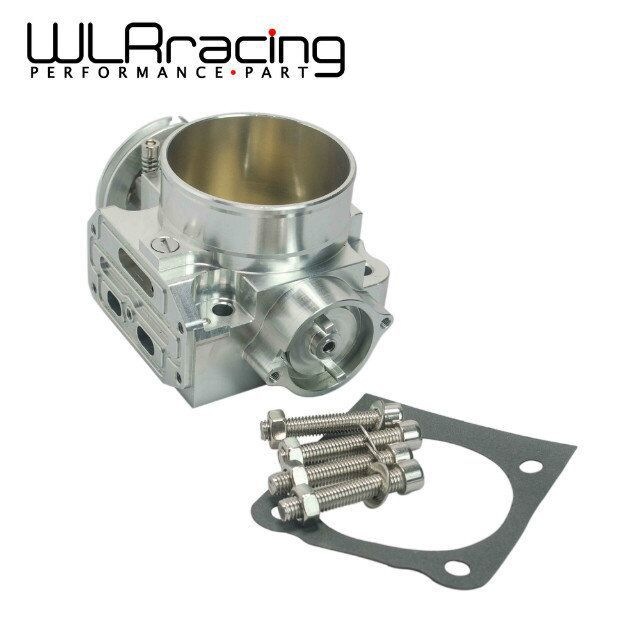 WLR RACING - NEW THROTTLE BODY FOR MITSUBISHI LANCER EVO 1 2 3 4G63 TURBO S90 THROTTLE BODY 70MM 1992-1995 WLR6940 цены