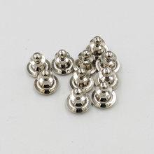 Ya.x 50/set Count copper Pin Backs Locking Pin Keepers Pin Locks Metal Clasp No Tool Required Locking Pin Backs Keepers