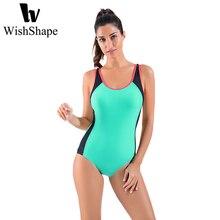 0655ddd04 Esportes profissionais Mulheres Swimwear Uma Peça Maiô Feminino Esporte  Empurrar Para Cima Magro Bathing Suit Brasileiro