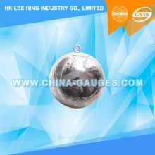 50mm Diameter Test Steel Ball of IEC60950 (Included ISO 17025 CNAS & ILAC Calibration Certificate)