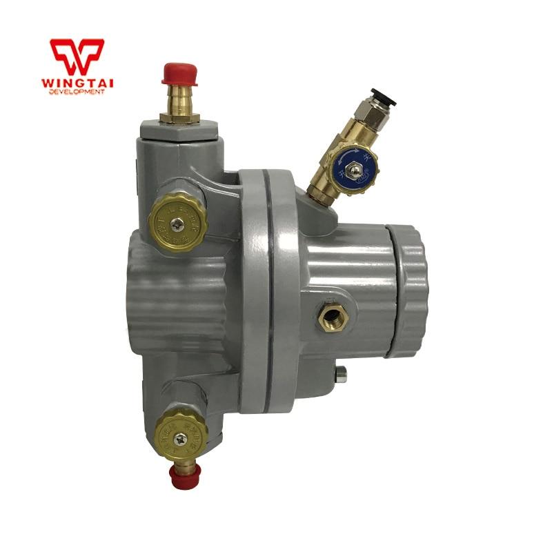 Good Quality BML-5 1/4 PTFE Diaphragm Single Way Pneumatic Pump For Liquid CirculationGood Quality BML-5 1/4 PTFE Diaphragm Single Way Pneumatic Pump For Liquid Circulation