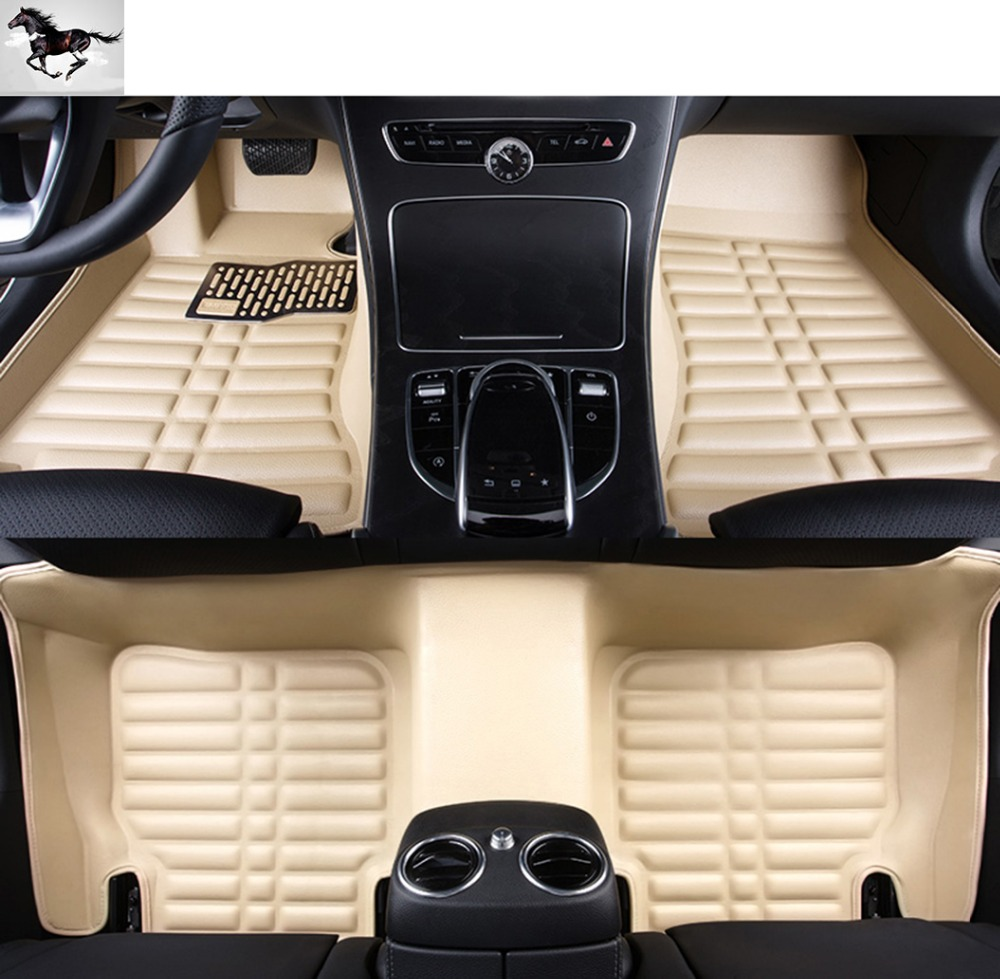 custom full set leather car mats suv mats floor liner floor mat set for infiniti infiniti qx60. Black Bedroom Furniture Sets. Home Design Ideas