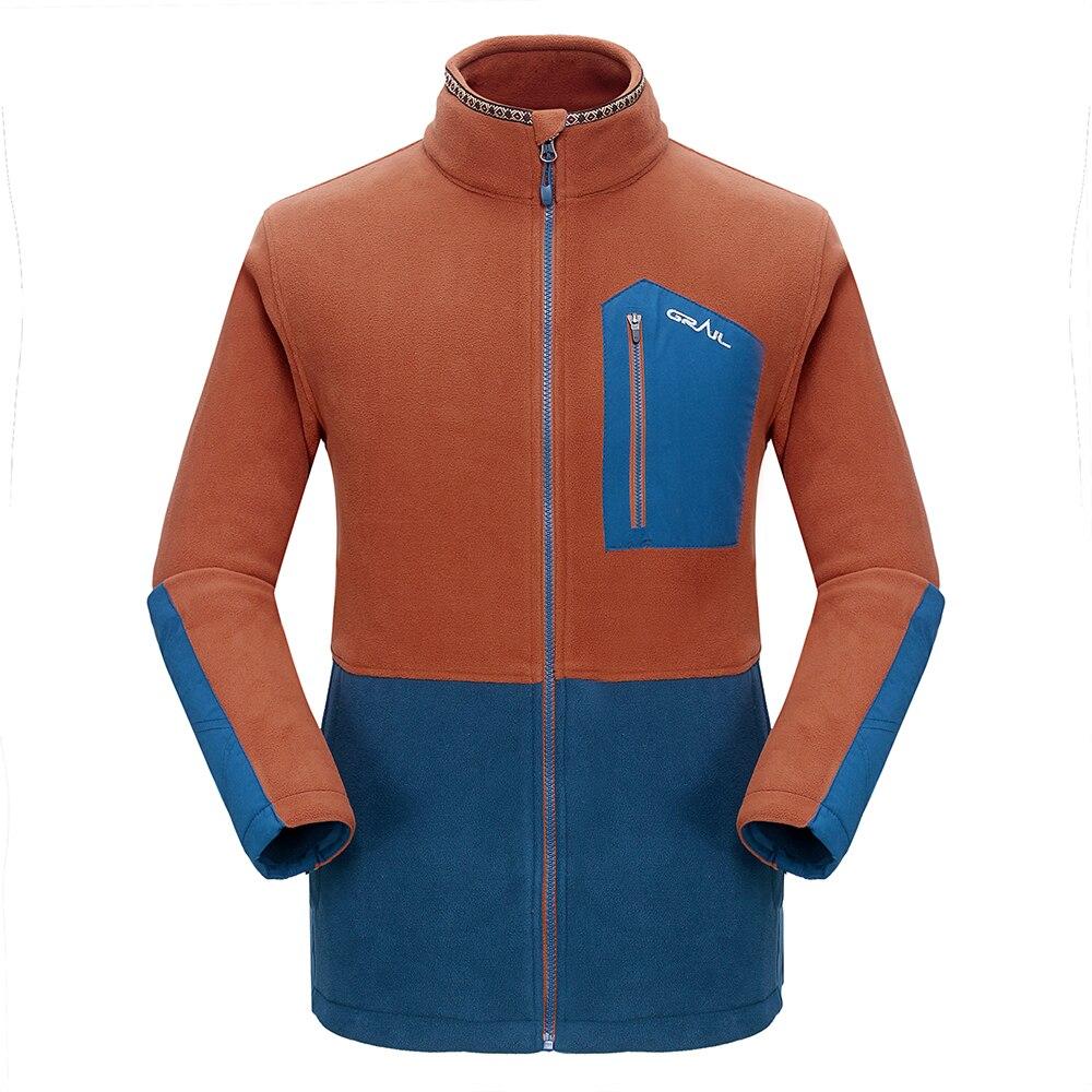 Grail Outdoor Hiking Jacket Ерлер Thicken Brand Fleece Jacket - Спорттық киім мен керек-жарақтар - фото 5
