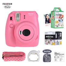 Fujifilm Instax Mini 9 Camera Instant Camera Film Cam met Selfie Spiegel + 20 of 50 Vellen Wit Film Foto papier(China)