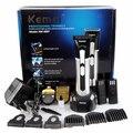 Homens bebê KM-3007 clipper aparador de barba cabelo máquina de corte corte de cabelo profissional cortador de cabelo elétrico recarregável