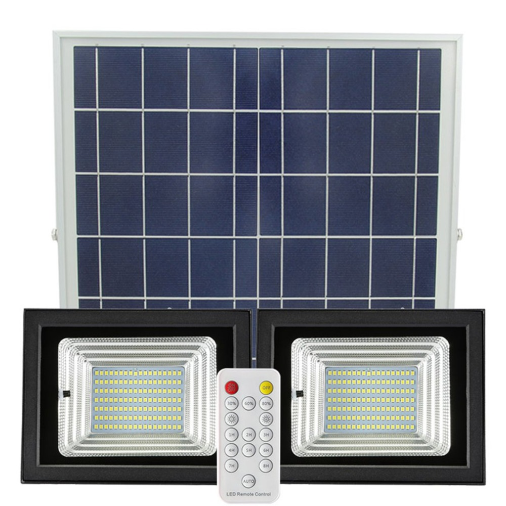 98/126 LED tipo Split PIR Sensor de movimiento de Control remoto 6 W 42 LED del Panel Solar de interior al aire libre LED hogar lámpara de luz de techo - 2