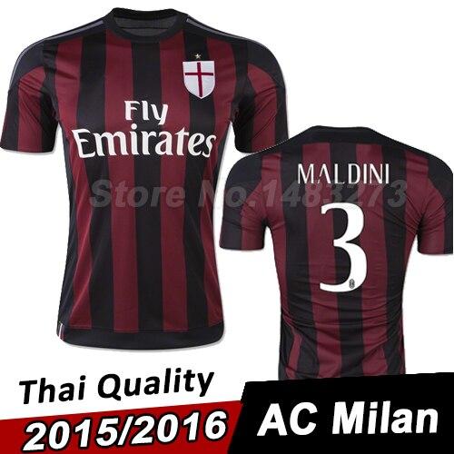 7a789f2f1f703 camisetas de futbol AC Milan modelos