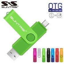 Оригинальный USB флеш-накопитель Suntrsi, реальная емкость, 4 ГБ, 8 ГБ, 16 ГБ, 32 ГБ, 64 ГБ, 2,0, USB флешка, флеш-карта