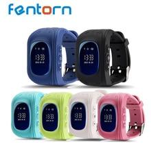 Fentorn q50 gps kid safe smart watch llamada sos ubicación Localizador Del buscador Del Perseguidor Niños reloj para Perdida Anti Del Niño Del Bebé reloj de pulsera