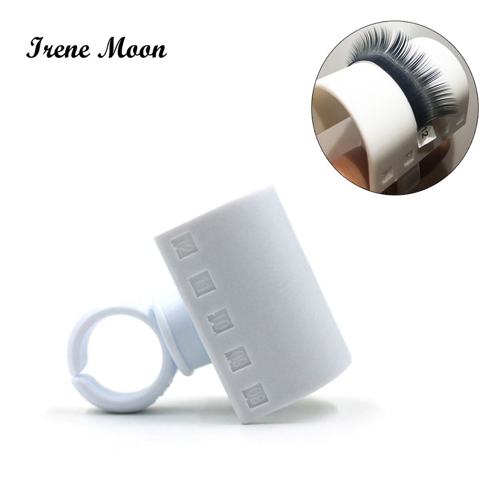 New Eyelash Glue Ring Adhesive Fake Eyelash Extension Pallet Holder Set Makeup Kit Tool Mink Eyelashes Eye Lash