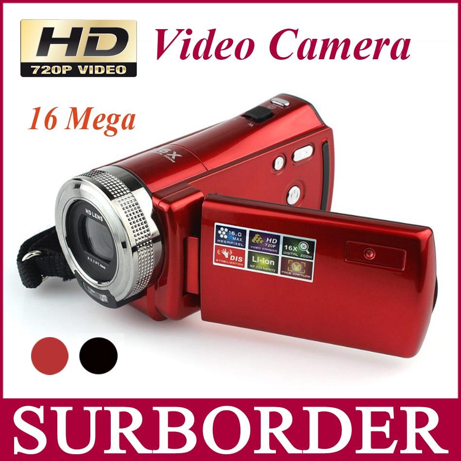 new hd digital video camera high definition camcorder 720p 16 megapixel 2 7 tft lcd 16 9 16x. Black Bedroom Furniture Sets. Home Design Ideas