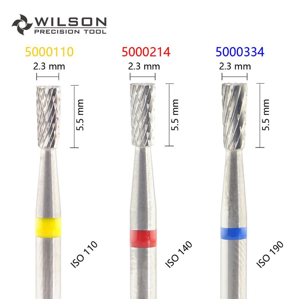 Invertida cónica ISO 227 023 Cruz-HP WILSON burs de laboratorio Dental de carburo de tungsteno