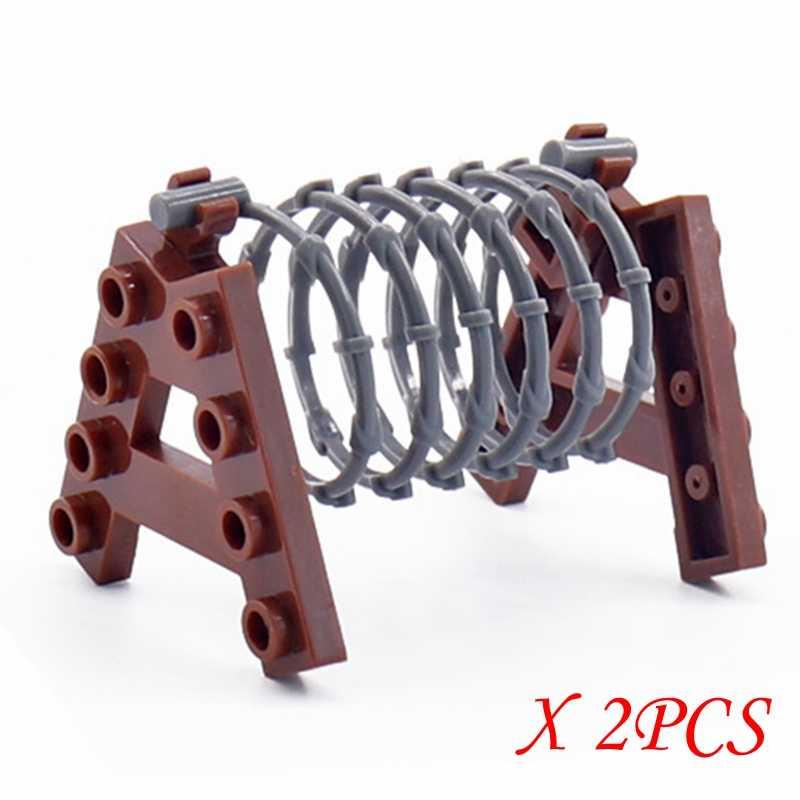 ล็อคทหารปืนสุนัขร่มชูชีพ Sandbag กล่องอาคารชุดของเล่นเด็กทหารล็อคชิ้นส่วนของขวัญของเล่น