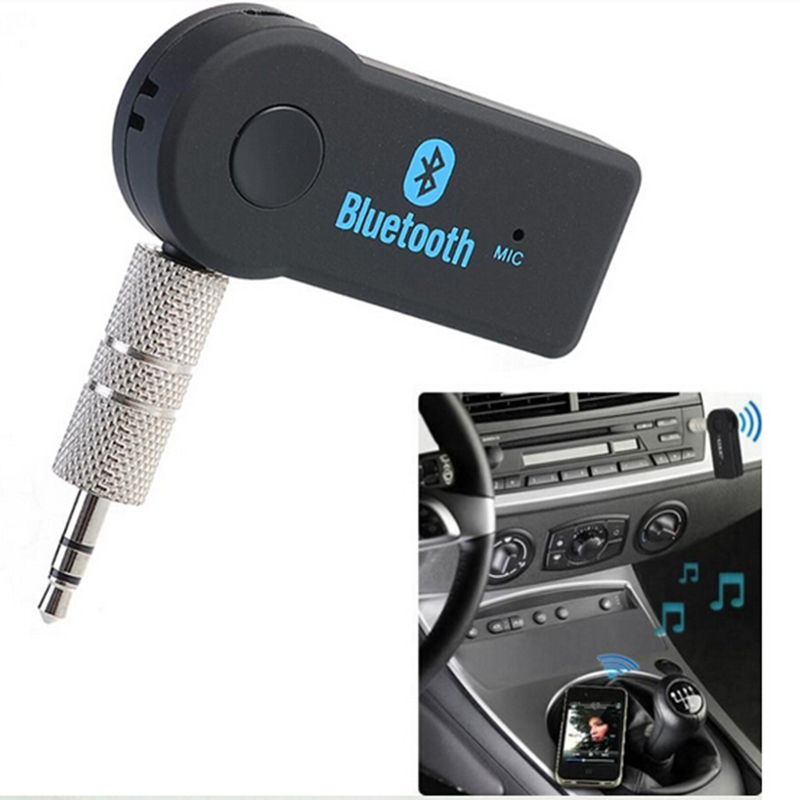 Universal 3.5mm Streaming Car Kit A2DP Wireless Bluetooth PC Labtop AUX Audio Music Receiver