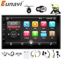 Eunavi 2 Din 7 Android 6 0 7 1 2din New Universal Car Radio Double Din
