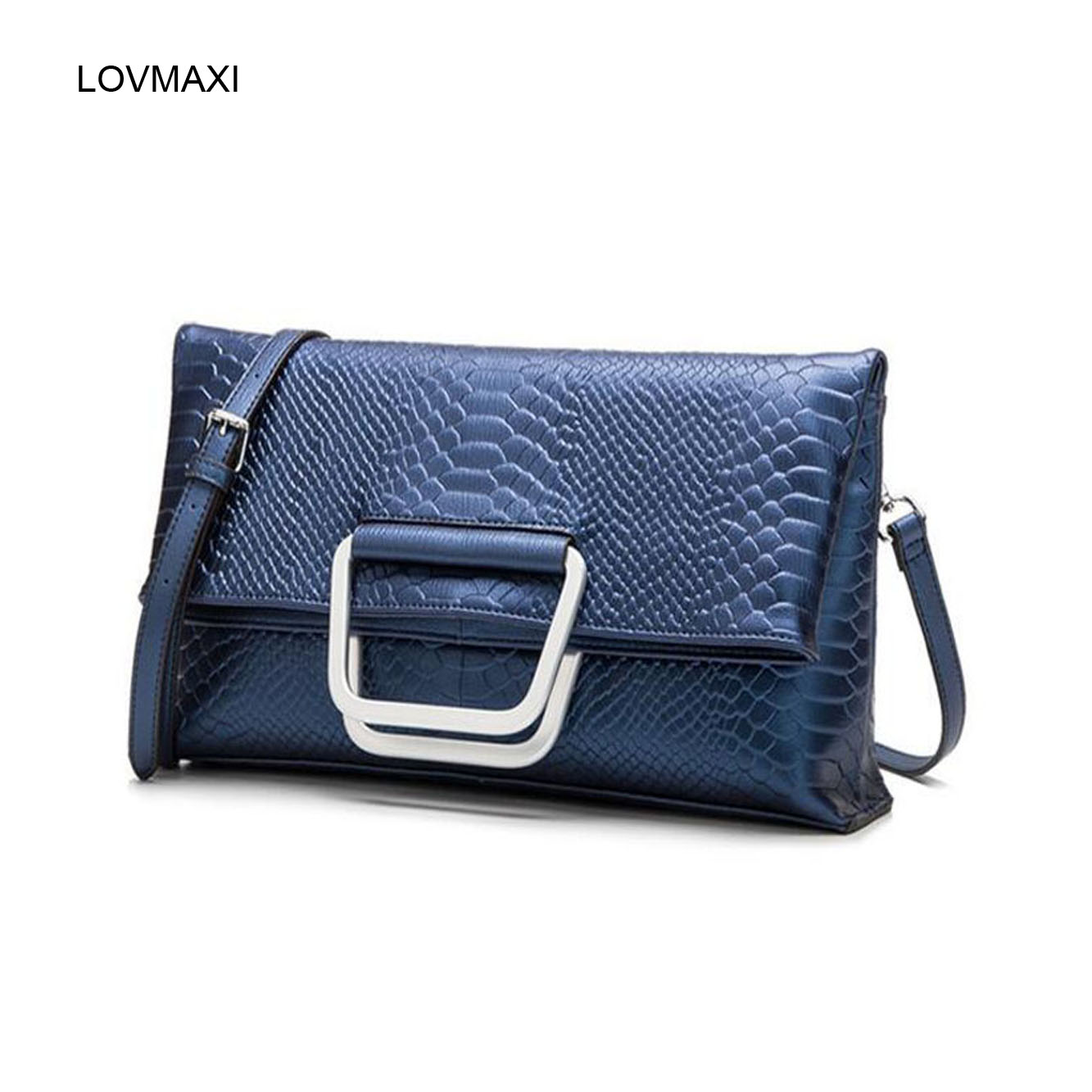 ФОТО 2017 new lady genuine leather messenger bags crocodile handbags Luxury Famous women's Evening bags shoulder bags day clutches