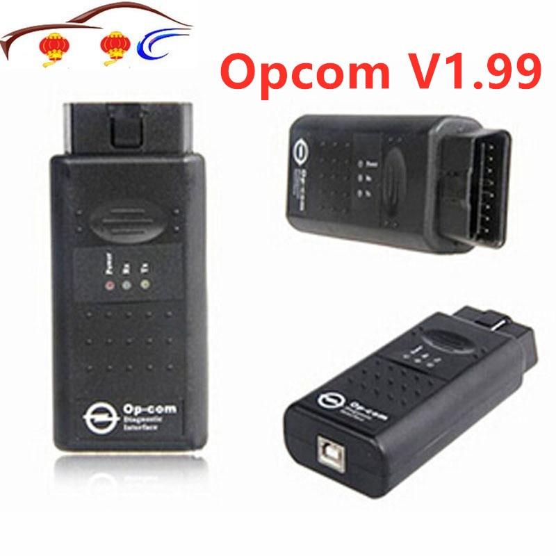 2019 OPCOM V1.99 Firmware OBD2 Diagnostic Cable For Ope Cars OP COM V 1.99 Software 2014V OP-COM Can Bus Diagnostic Interface
