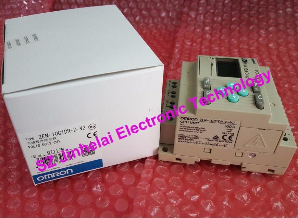 Authentic original ZEN-10C1DR-D-V2 OMRON Programmable relay DC12-24V все цены