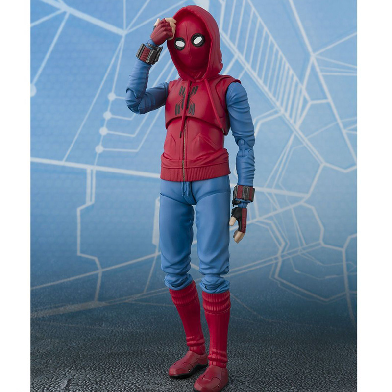 Action & Toy Figures Spider Man Variant Action Figure 1/8 Scale Painted Figure Spider Man Homemade Suit Ver Pvc Figure Toy Brinquedos Without Holder Available In Various Designs And Specifications For Your Selection