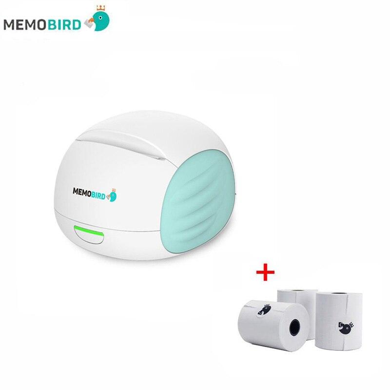 2017 new MEMOBIRD Second generation WiFi Thermal Printer Phone Photo Printer any language and photo