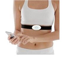 Bezprzewodowy przenośny, nadający się do noszenia, EKG Monitor maszyna do pomiaru śledzenie aktywności EKG serca wsparcie elektroda Holter dla Android IOS