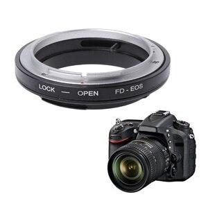 Image 1 - Anneau adaptateur de montage FD EOS pour objectif Canon FD à EF EOS monture caméra caméscope nouveau JUL 18A