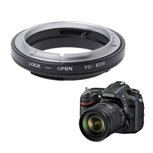 FD EOS Mount Adapter Ring Voor Canon Fd Lens Ef Eos Mount Camera Camcorder Nieuwe JUL 18A