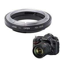FD EOS adapter do montażu pierścień do canona FD obiektyw do EF EOS do montażu kamery kamera nowy JUL 18A