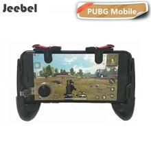 Иезавель пара гашетку для PUBG мобильный Shooter Бесплатная огонь цель игр геймпад джойстики контроллер для PUGB мобильный джойстик