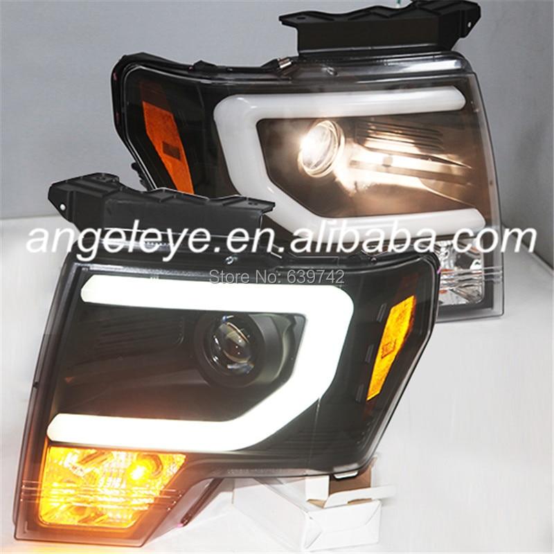 все цены на  For FORD F150 Raptor 2008 TO 2012 Head Light Black Color SN  онлайн