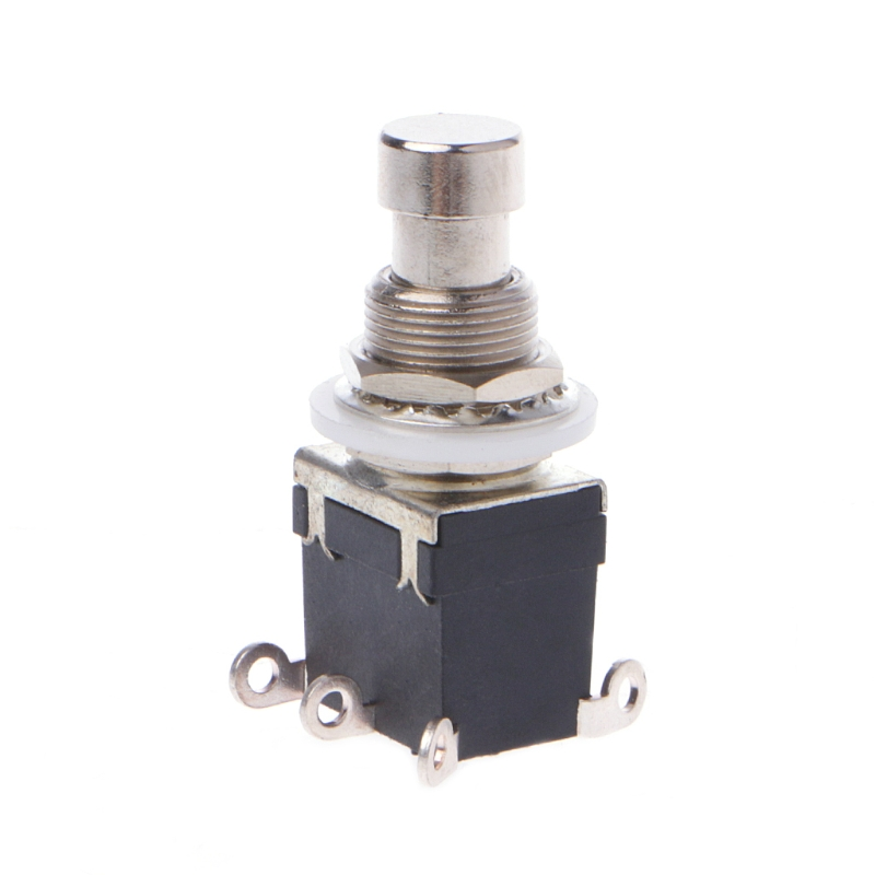 AC 250V/2A 125V/4A 6Pins DPDT Momentary Stomp Foot Switch for Guitar image