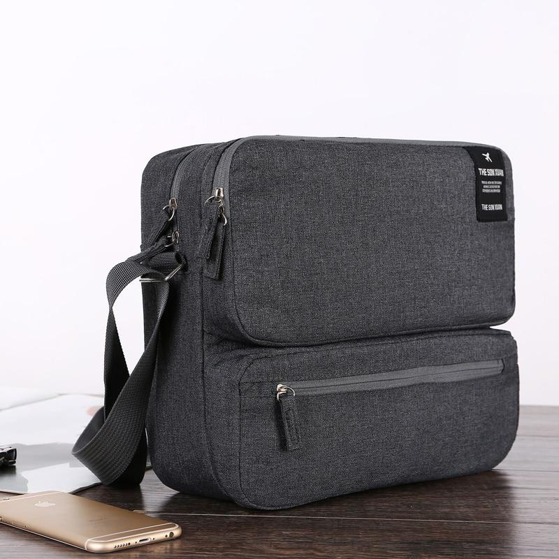 Travel Accessories Bag Shoulder Messenger Multi-function Large IPad Bag Men Women Travel Documents Storage Luggage Package