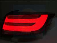 Fit for TOYOTA Vios 2014 Taillight highlight LED light guide brake light