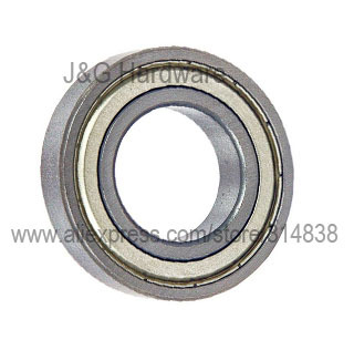 6003ZZ Bearing 17x35x10 Shielded  Ball Bearings 30 pieces-in Shafts from Home Improvement    1