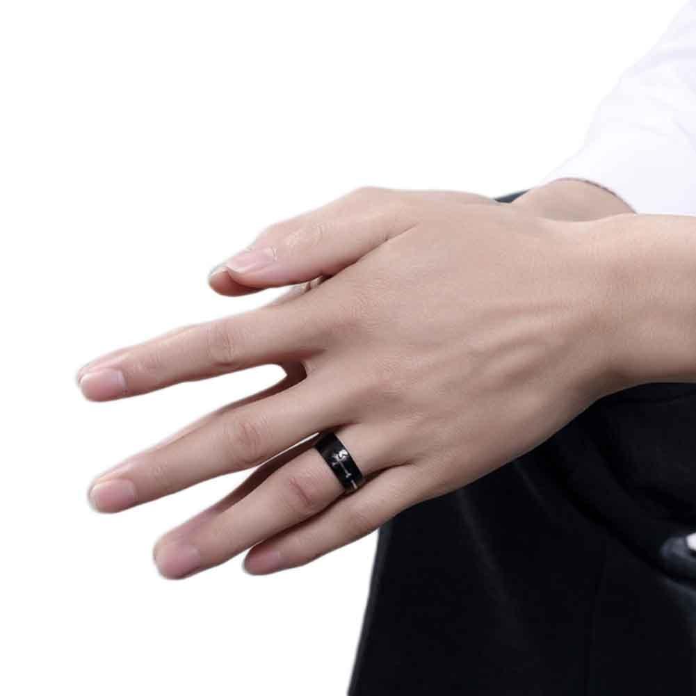 Creative Cross Pattern Retro Jewelry Ring Cross Ring For Men Woman ...