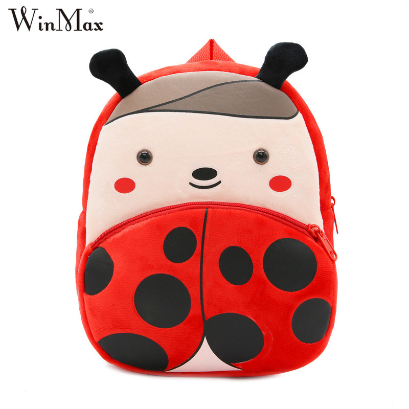все цены на 2018 Winmax Factory Kindergarten Schoolbag 3D Cartoon Kids Animal Backpacks Children School Bags for Girls Boys Mochila Infantil онлайн