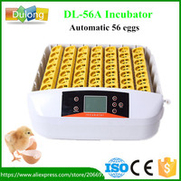 Newest Brooder Automatic 56 Eggs Incubator Hatchery Auto Hatchers Machine With Working Indicator Light