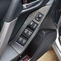 Soporte para coche de agua agua apoyabrazos titular de Fibra de Carbono del panel Interior para 13 ~ 17 Silvicultor accesorios (para volante a la izquierda)