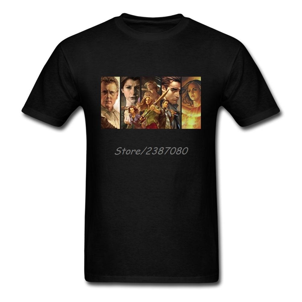 Buffy The Vampire Slayer Comic T Shirt Cotton Short Sleeve Custom  Brand-clothing 2019 Hot Hot Selling 3XL Men T-shirt