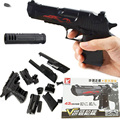 Educational kids toys building blocks gun model building kit assembling pistol Desert Eagle assembled toys bricks for children